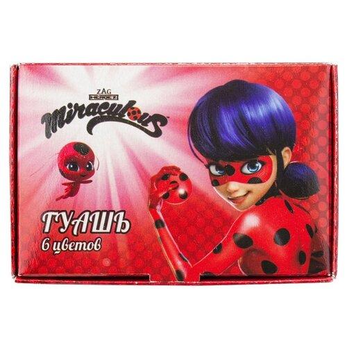 Гуашь Action Ladybug 6 цветов