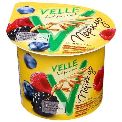 полезное утро продукт овсяный ферментированный клубника 120 г Овсяный напиток Velle Продукт