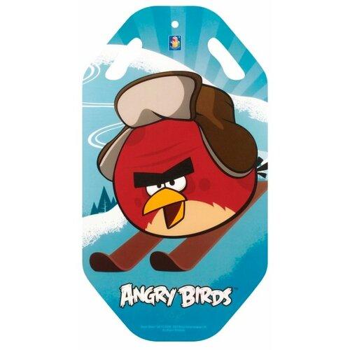 ледянка 72х41 см прямоугольная angry birds 1toy Ледянка 1 TOY Angry Birds Т57212