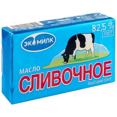Экомилк Масло сливочное 82.5%