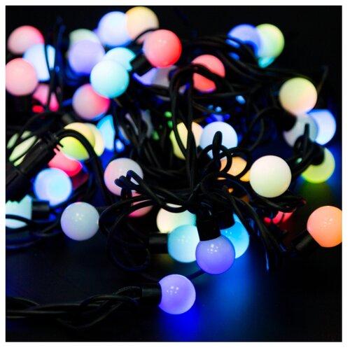 Гирлянда NEON-NIGHT Шарики 200 гирлянда neon night мультишарики 17 5mm 20m 200 led white 303 505