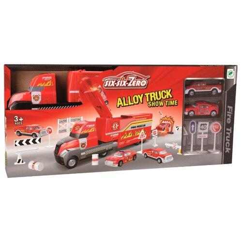 Трек Xiao Bai Cai Fire Truck