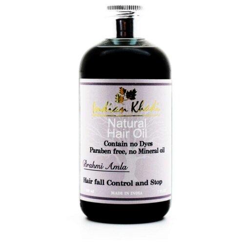 Indian Khadi Масло для роста масло для волос хна розмарин амла indian khadi 200 мл
