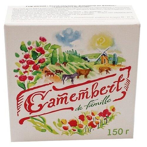 Сыр De famille Camembert мягкий clobbered by camembert