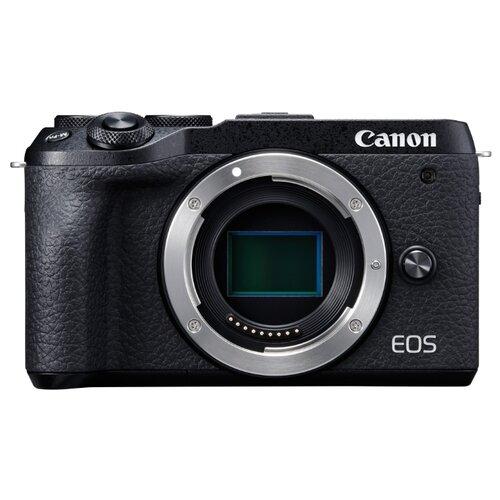 Фото - Фотоаппарат Canon EOS M6 Mark цифровой фотоаппарат canon eos 6d mark ii body черный