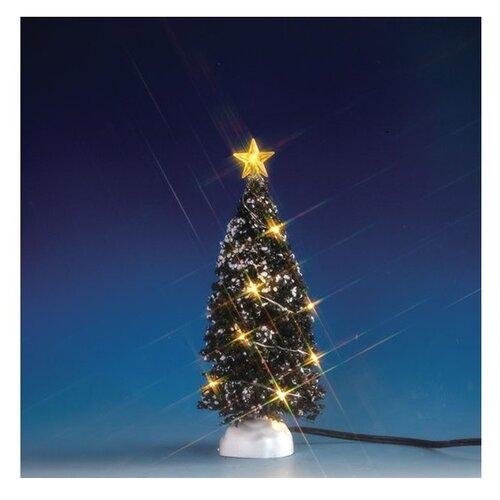 Фигурка Lemax Елка средняя 18 см наклейка декоративная елка с блестящей крошкой 24 18 см пвх