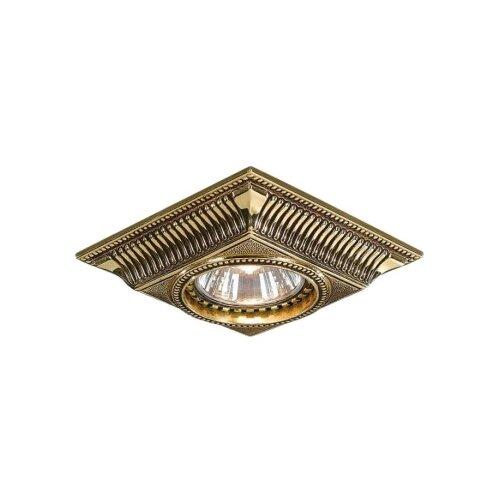Встраиваемый светильник встраиваемый светильник reccagni angelo spot 1082 oro