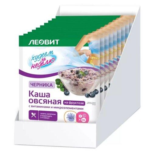 ЛЕОВИТ Худеем за неделю Каша очищающий комплекс упаковка 20 капсул худеем за неделю биослимика