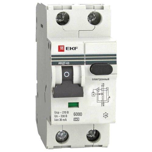 Дифференциальный автомат EKF автомат ekf mccb99 63 50m