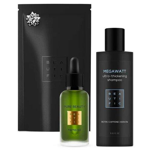 Набор BEAUTIFIC Megawatt beautific шампунь megawatt для