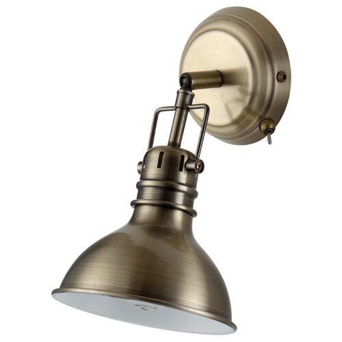Бра Arte Lamp Mark A1102AP-1AB бра arte lamp fisherman a5518ap 1ab