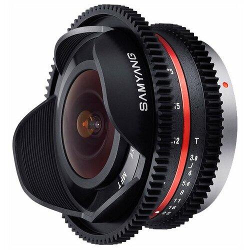Фото - Объектив Samyang 7.5mm T3.8 объектив