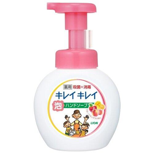 косметика для мамы lion kirei kirei пенное мыло для рук с ароматом цитрусовых фруктов запасной блок 450 мл Пенка Lion Kirei Kirei с