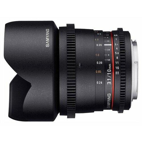 Фото - Объектив Samyang 10mm T3.1 ED объектив