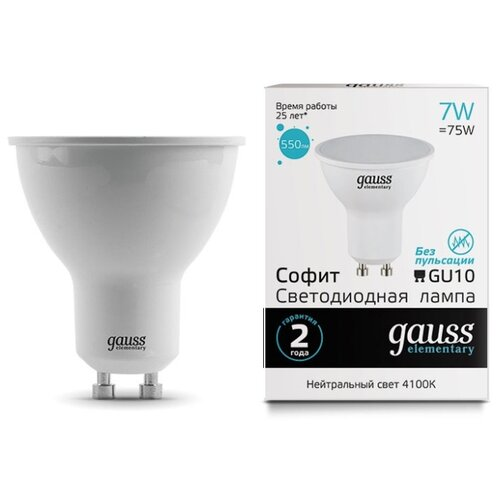 Светодиодная лампа Gauss светодиодная лампа gauss eb103102104