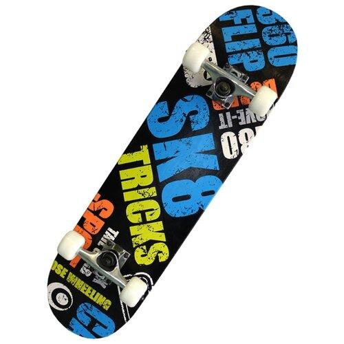 Скейтборд Moove&Fun MP3108-11B скейт пластиковый moove fun 22х6 1 pp2206 1 green