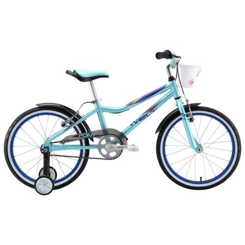 Детский велосипед Welt Pony 20 велосипед welt peak 24 disc 2019