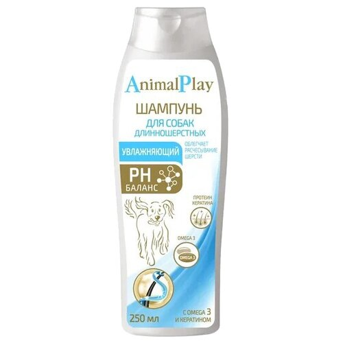 Шампунь Animal Play увлажняющий animal ботинки animal heathe f74 uk 10