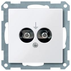 Телекоммуникационная розетка Schneider Electric MTN290425, белый