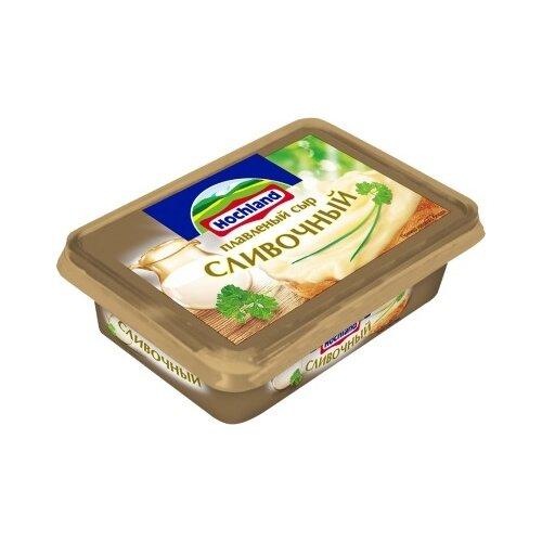 плавленый сыр hochland сливочный 400 г Сыр Hochland плавленый