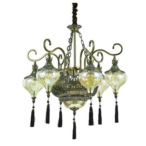 Люстра IDEAL LUX Harem SP9 E27 светильник потолочный ideal lux harem harem pl6