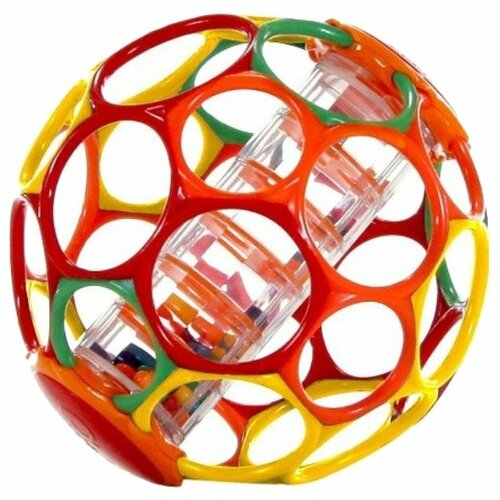 Погремушка Oball Мячик с