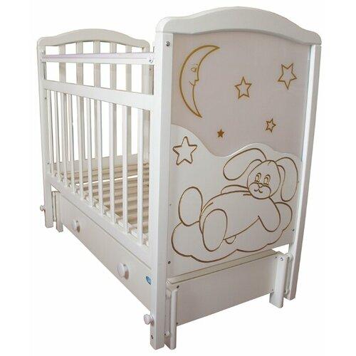 Кроватка Мой малыш 12 кровать колыбель мой малыш светлый мм14 1