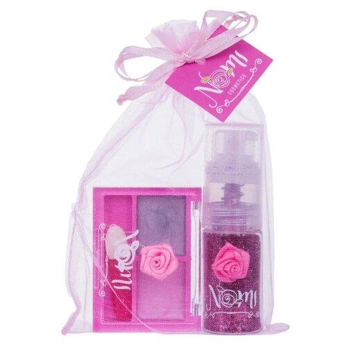 Набор косметики Nomi Розовая набор детской косметики nomi beauty box 5