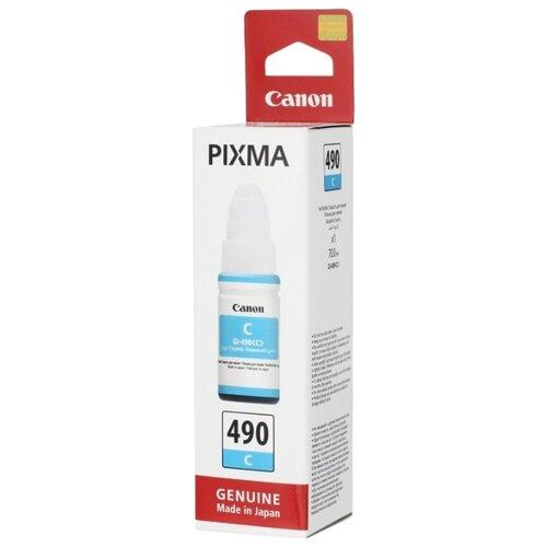 Фото - Чернила Canon GI-490C 0664c001 чернила revcol универсал для hp canon 100ml yellow dye