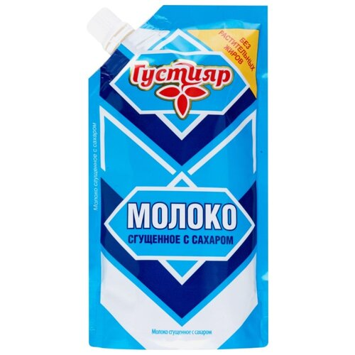 Фото - Сгущенное молоко Густияр с волоконовское молоко цельное сгущенное с сахаром премиум 380 г
