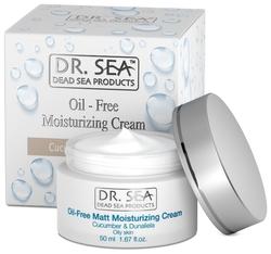 Dr. Sea Oil-Free Moisturizing Cream Безжировой увлажняющий крем для лица с экстрактами огурца и Дуналиеллы