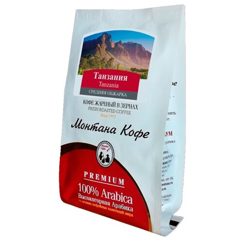 Кофе в зернах Монтана Танзания