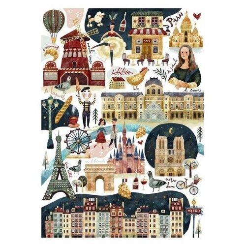 Подписные издания Тетрадь Paris открытка подписные издания дом мельникова 10 х 15 см