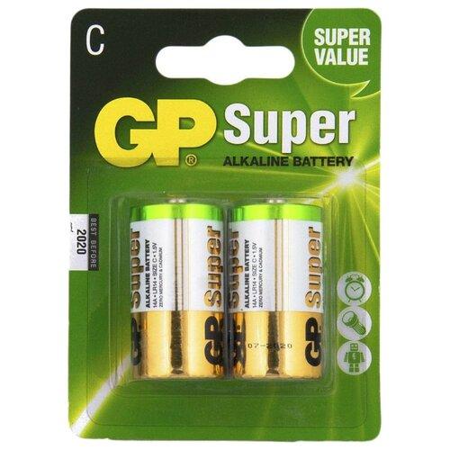 Фото - Батарейка GP Super Alkaline C батарейки gp super alkaline lr03 30 шт gp 24a b30