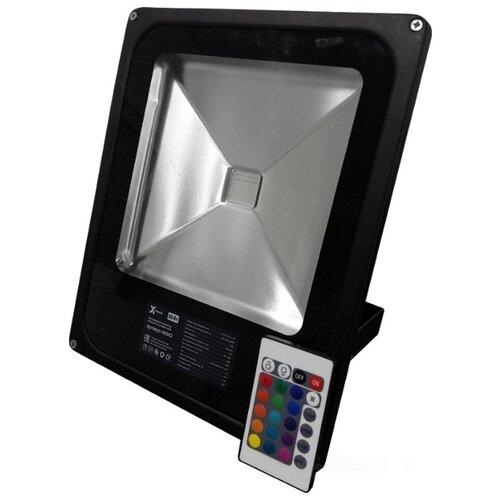 Прожектор светодиодный 50 Вт лампочка x flash 48762