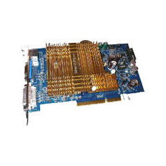 GIGABYTE GeForce 6600 300Mhz AGP 256Mb 400Mhz
