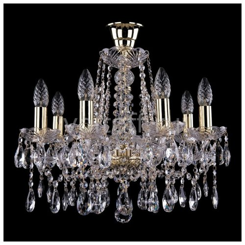 Bohemia Ivele Crystal 1413 8 люстра bohemia ivele crystal 1413 1413 8 200 g