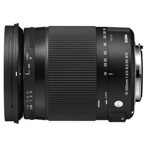 Фото - Объектив Sigma 18-300mm f объектив