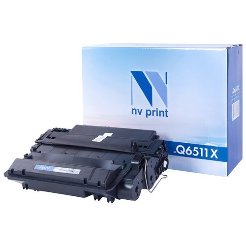 Фото - Картридж NV Print Q6511Х для HP картридж nv print cf380x для hp