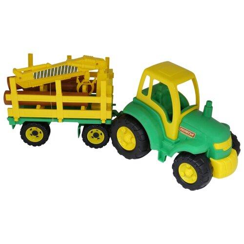 Фото - Трактор Полесье Чемпион 8229 68 полесье набор игрушек для песочницы 468 цвет в ассортименте