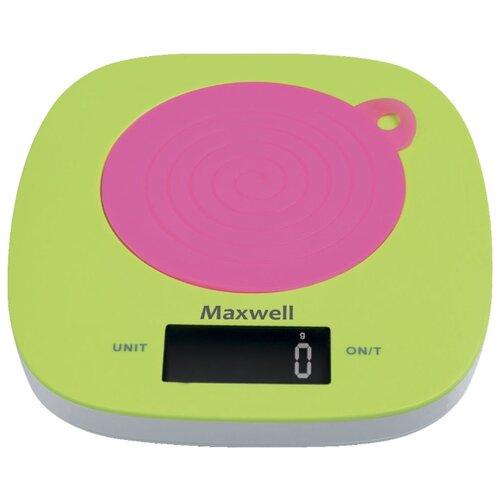Кухонные весы Maxwell MW-1465 весы кухонные maxwell 1477 mw pk розовый