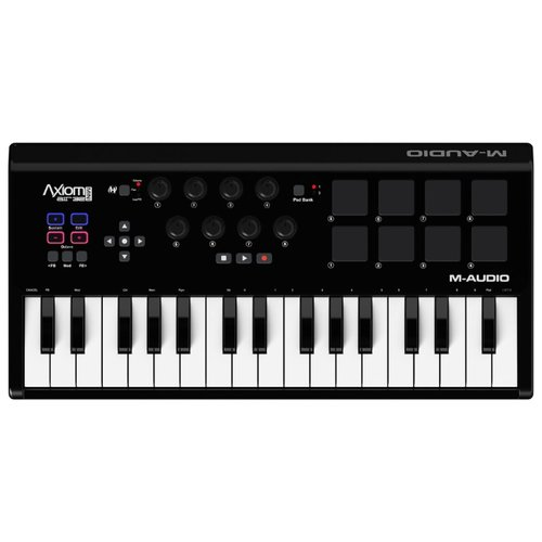 MIDI-клавиатура M-Audio Axiom midi контроллер m audio m audio trigger finger pro midi