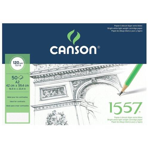 Альбом Canson 1557 59.4 х 42 альбом canson xl bristol 42 х
