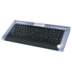 GeniusLuxeMate Scroll Black-Blue USB+PS/2