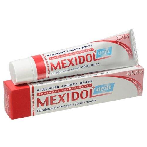 Зубная паста Мексидол Aktiv фото