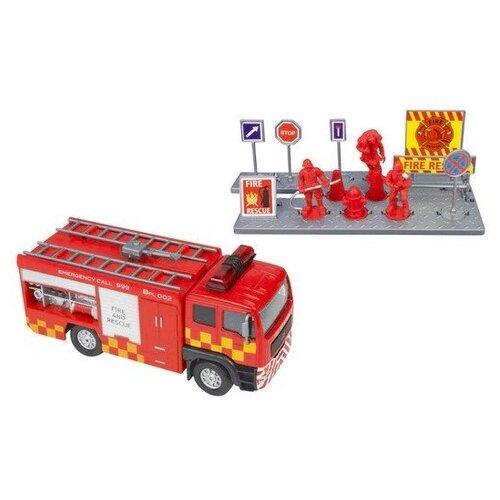 Машинка Teamsterz Спасательная машинка blaze вспыш чудо машинка цвет оранжевый