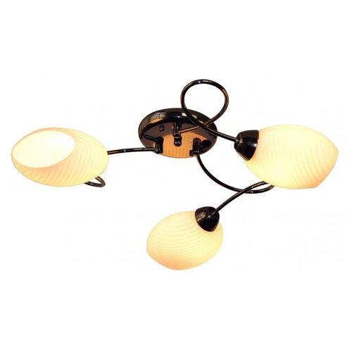 IDLamp 853 853 3PF-Blackchrome потолочная люстра idlamp nield 232 3pf blackchrome