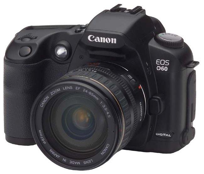 Компания canon представляет новую фотокамеру canon eos 60d