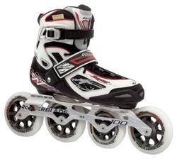 Роликовые коньки Rollerblade Tempest W 2012 100 mm