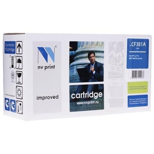 Фото - Картридж NV Print CF381A для HP kартридж hp 312a cyan cf381a